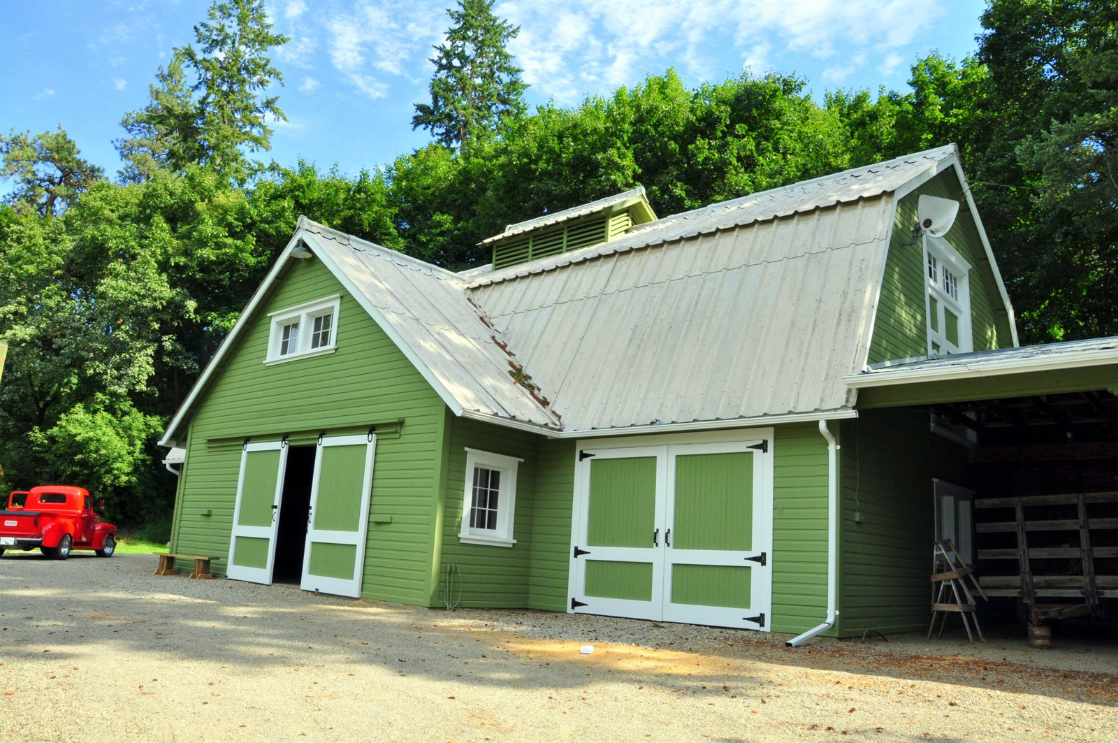1926 Coldstream Heritage Barn Restoration