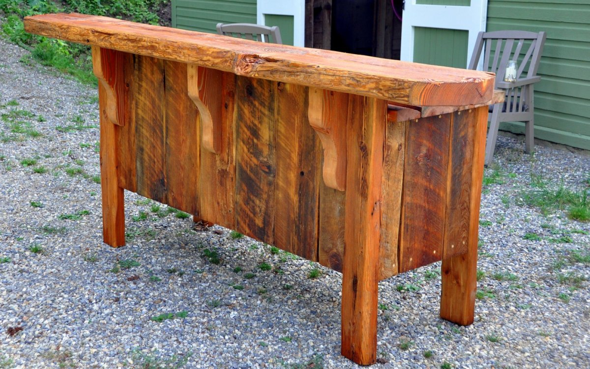 We Also Build Custom Furniture And Other Wood Creations From Reclaimed Recycled Products To Accompany Our New Builds Renovations