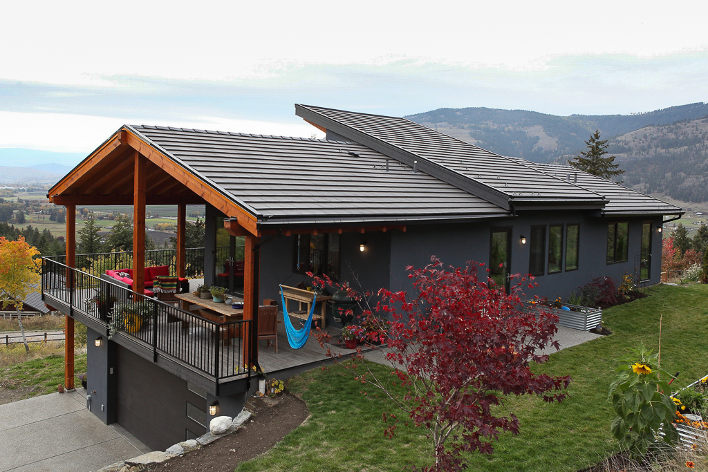 Energuide EnergyStar Rated home built by Parsons Family Homes in Coldstream, BC