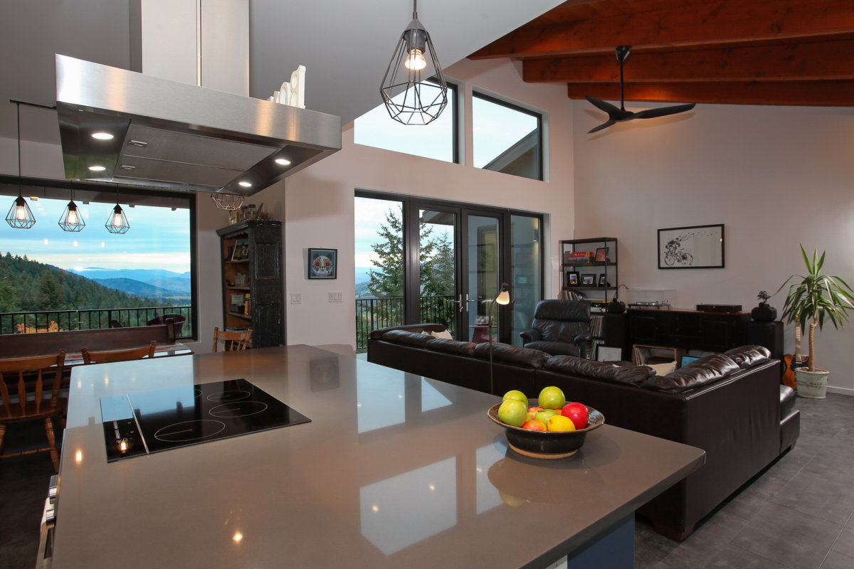 Energuide home. EnergyStar rated home. Coldstream, BC, built by Parsons Family Homes.